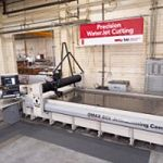 TCI installs the new OMAX 80X waterjet machining center