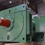 Menzel built a replica of an old DC motor