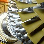 A large gas turbine. Photo: Siemens.