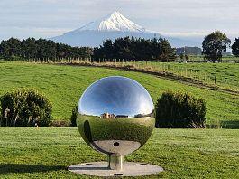 Sphere & Mount Taranaki NZ