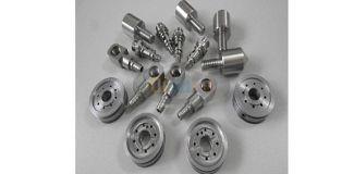 Thin-walled custom titanium alloy processing method