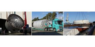 BUTTING vessels: large-scale transports into wide world