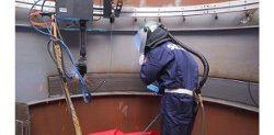 Sulzer's automated welding for distillation columns