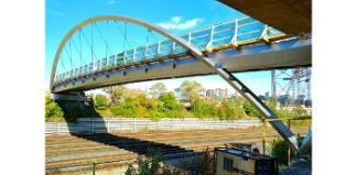Garrison Crossing built with UR duplex stainless steel