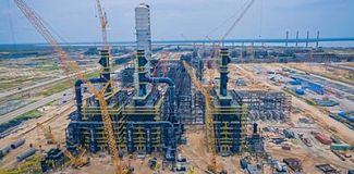 Sulzer as the sole supplier for Dangote refinery