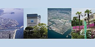 Hikari area (first two photos) and Shunan area (last two photos) in Yamaguchi Works.
