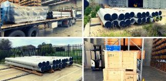 Delivery of specialized Super Duplex products in Perth