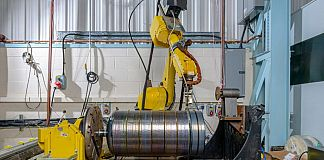 View of the manufacturing setup. Source: Cranfield University