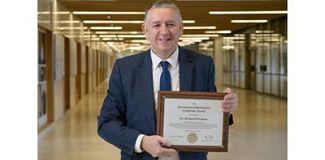 Richard Freeman wins International AWS Award