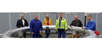 BUTTING celebrates the delivery of the 1000th tube ring