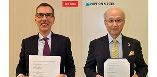 Nippon Steel Corporation signs a MoU with Rio Tinto