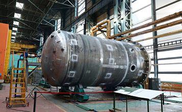 AEM-technology start welding Passive Core Flooding tank