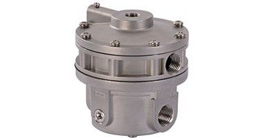 New stainless steel high flow capacity volume booster