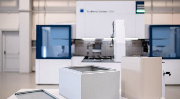 TRUMPF offers fastest bending solution for tall, thick parts