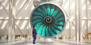 Ultrafan jet engine
