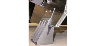 Airbus satellite, 3D-printed in titanium