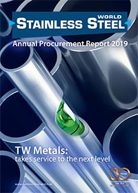 APR 2019 Stainless Steel TW Metals magazine cover