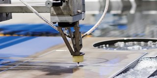 The company's waterjet cutting services are operating 24/7 t provide value-added products to customers.
