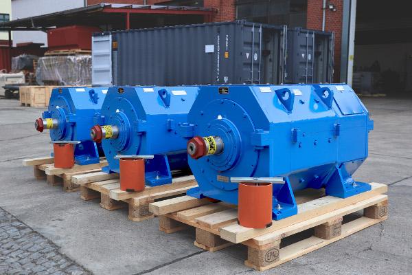 Menzel manufacture DC mill motors as per AISE standards
