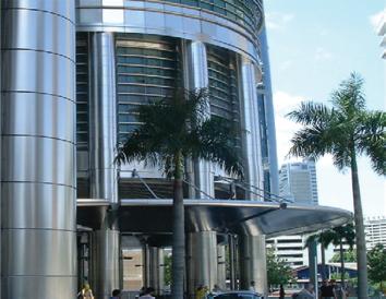 Petronas Towers in Kuala Lumpur, Malaysia Photo credit: Outokumpu