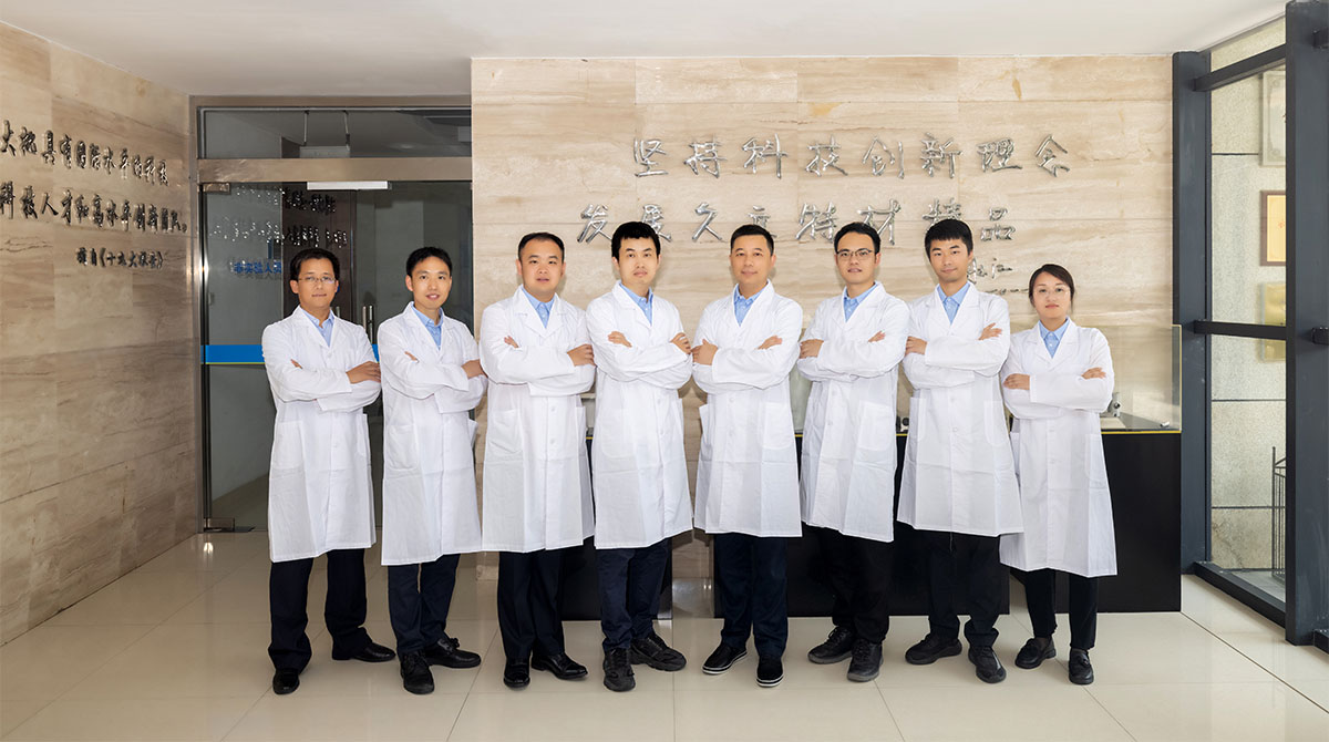 Leaded by Chief Engineer Su Cheng, Jiuli's PHD team has been committing to new product innovation.