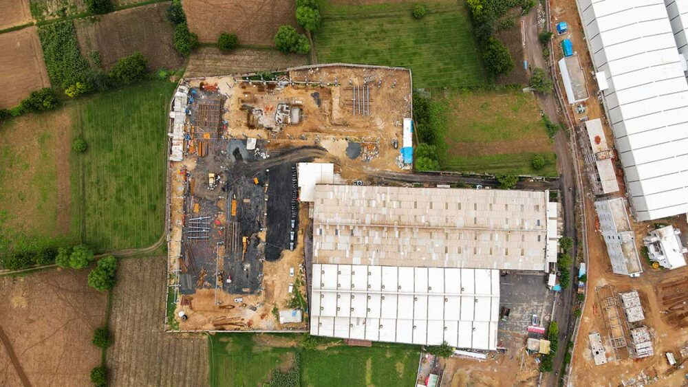 As this aerial photo clearly demonstrates, Scoda Tubes is investing for growth with an additional area covering no less than 20,000 square metres