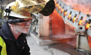 Augmented Reality protects skills in steel industry